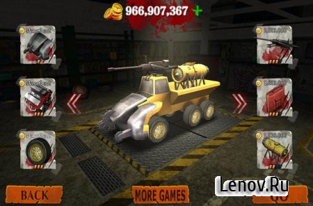 Death Derby Racer Zombie гонки v 1.0 Мод (много денег)