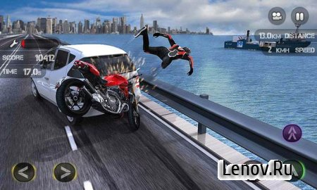 Race the Traffic Moto (обновлено v 1.0.15) Mod (Money/Full/Ad-Free)