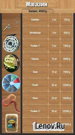 True Fishing v 1.10.2.466 Мод (Unlimited Money/Unlocked)