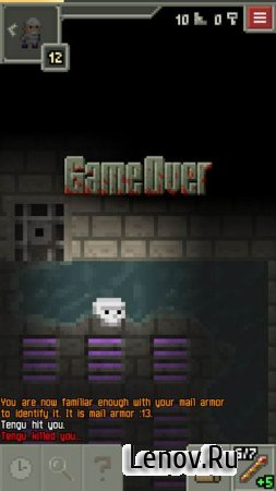 Pixel Dungeon v 1.9.2a Мод (много жизней)