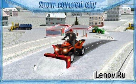 Snow Blower Truck Sim 3D v 1.0