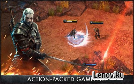 The Witcher Battle Arena (обновлено v 1.1.1) Mod (Heroes Unlocked)