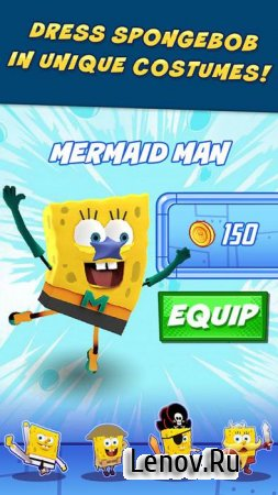 SpongeBob: Sponge on the Run v 1.5 Мод (много денег)