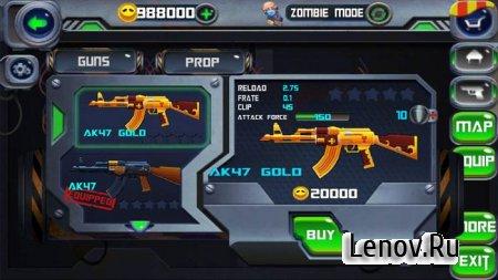 Hero Strike:Zombie Killer v 1.0.2 Мод (много денег)