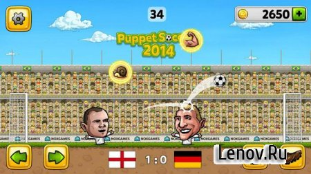 Puppet Soccer 2014 v 3.0.3 Мод (Unlimited Coins/Gems)