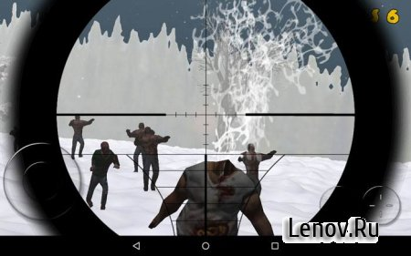 Zombie Sniper: Winter Survival v 1.0
