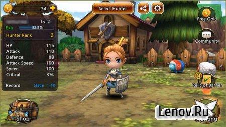 Demong Hunter v 1.6.7 Мод (много денег)