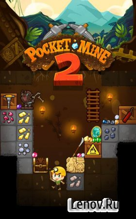 Pocket Mine 2 v 3.11.0 Мод (Free Shopping)