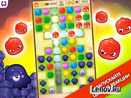 Jelly Splash Match 3: Connect Three in a Row v 3.37.1 Мод (Unlimited Coins/70 moves)