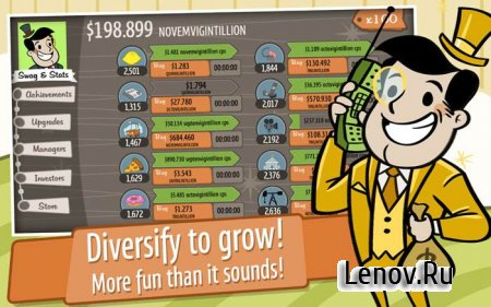 AdVenture Capitalist v 6.4.3 (Mod Money)
