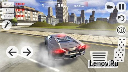 Extreme Car Driving Simulator v 4.18.11 Мод (Unlimited Money)