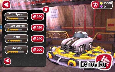 Turbo Wheels v 2.0.2 Мод (много денег)