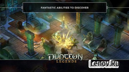 Dungeon Legends - RPG MMO Game v 3.21 Мод (Hunter rewards tons of gold & More)