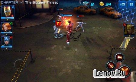 MARVEL Future Fight v 6.2.0 Mod (x5 Attack & Defense/No Skill Cooldown)