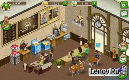 My Cafe: Recipes & Stories v 2018.10.3 Мод (Mod Money​)