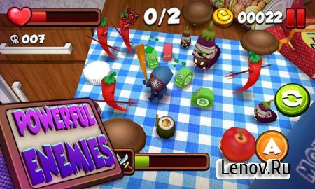 Kitchen Adventure 3D v 1.0.2 (Mod Money)