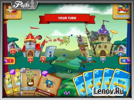 Castle Wars v 1.0.25 Мод (много денег)