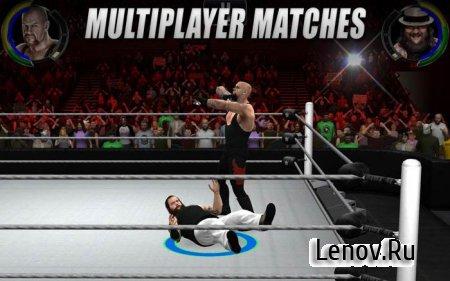WWE 2K (обновлено v 1.1.8117) Мод (Unlocked Customizations Items)