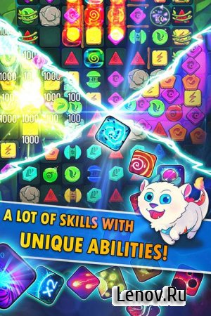 Puzzle Monsters v 1.0.0 Мод (много денег)