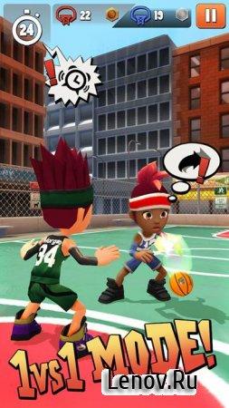 Swipe Basketball 2 v 1.1.9 Мод (много денег)