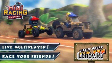 Mini Racing Adventures v 1.18 Мод (много денег)