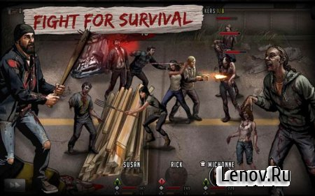 The Walking Dead: Road to Survival (обновлено v 12.0.1.62244)