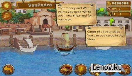 Caribbean Fleet v 1.0.1 Мод (много денег)