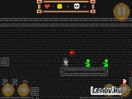 Pixel Wizard: 2D platform RPG (обновлено v 70) (Mod Money)