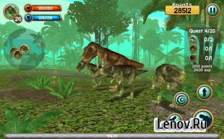 Tyrannosaurus Rex Sim 3D v 1.0