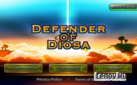 Defender of Diosa v 1.0 Мод (много денег)