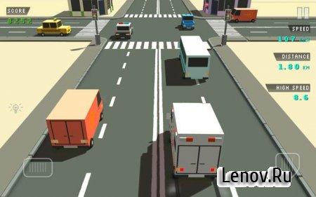 Blocky Traffic Racer (обновлено v 1.1) Мод (много денег)