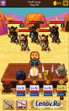 Knights of Pen & Paper 2 v 2.6.26 Мод (Mod Money/Unlimited MP & More)