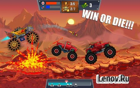 Mad Truck Challenge - Racing v 4.3 Мод (много денег)