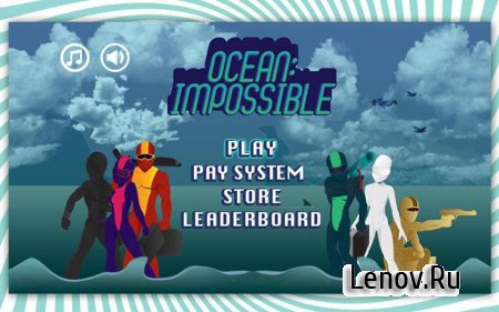 Ocean:Impossible Pro v 1.1 Mod (Unlocked)