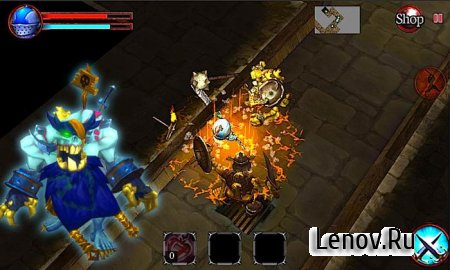 Dungeon Blaze - RPG (обновлено v 1.7) Мод (много денег)