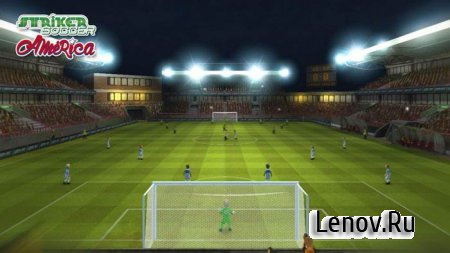 Striker Soccer America 2015 v 1.2.9 Мод (много денег)
