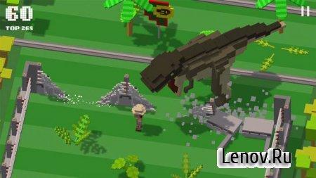 Jurassic Hopper (обновлено v 1.0.2) Mod (Unlocked)