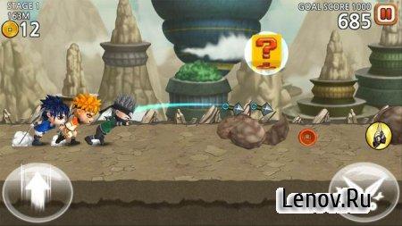 Ultimate Battle: Ninja Dash v 1.02 Мод (много денег)