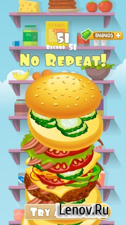 "Burger Cafe ""No Repeat"" 2 v 4 (Mod Money)"