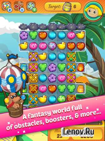 Pop Voyage v 1.15 Мод (Unlimited Hearts/Gold)