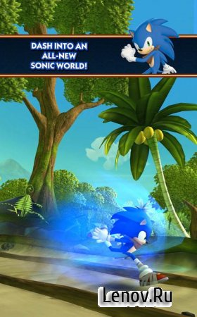 Sonic Dash 2: Sonic Boom v 1.7.17 Мод (infinite Red Rings)