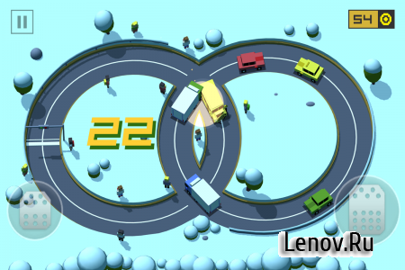 Loop Drive: Crash Race v 1.4 Мод (Unlimited Money)