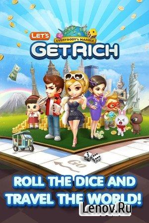 LINE Let's Get Rich v 1.1.5 (Clone Mod)