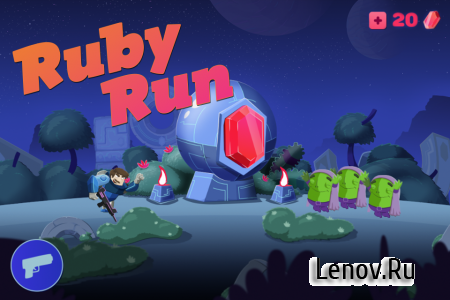 Ruby Run: Eye God's Revenge v 1.0.03 Мод (Unlimited Money)