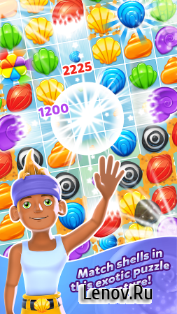 Tropical Trip - Match 3 Game (обновлено v 1.0.21) Мод (Unlimited Coins/Lives)