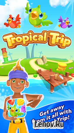 Tropical Forest: Match 3 Story v 1.4.3 Мод (Unlimited Coins/Lives)
