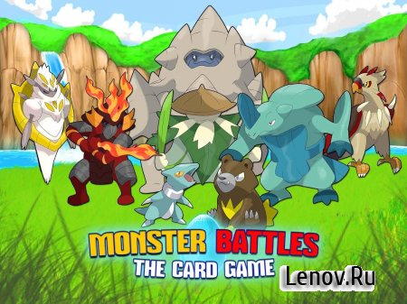Monster Battles: TCG v 1.3.5 (Mod Coins/Exp)