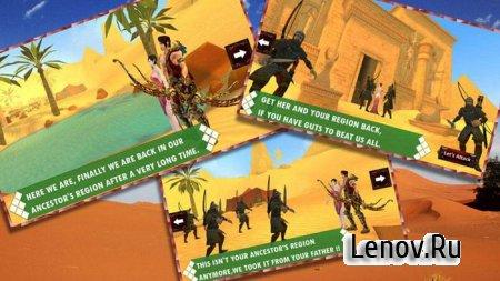 Egyptain Archer Clash v 1.3 Мод (много денег)