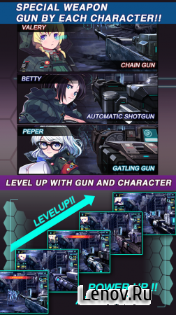 Gun Fire Girls v 1.02 (Mod Money)