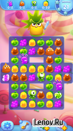 Jolly Jam: Match and Puzzle v 3.7 Мод (Unlimited Gems)